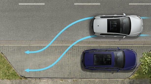 Aide pour se garer automatiquement