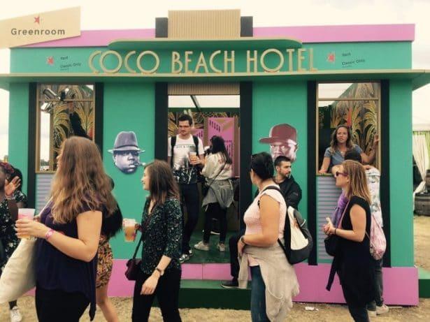 Ambiance Coco Beach avec la Greenroom