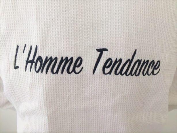 L'Homme Tendance a son peignoir !