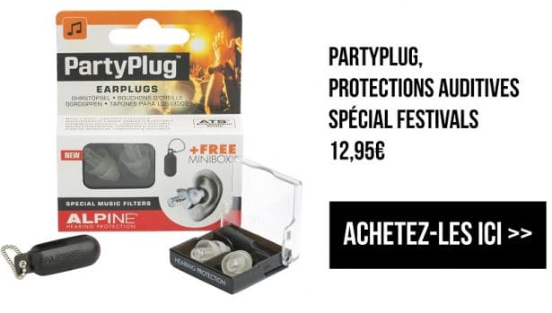 PartyPlug - Protections auditives pour Festivals - 10 incontournables