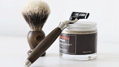 Accessoires de luxe pour rasage: Gentleman Barbier