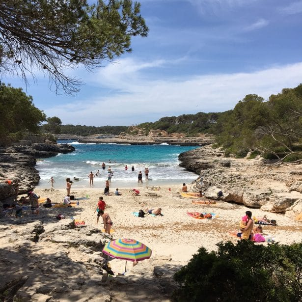 Cala Mondrago - Majorque - Parc naturel - crique superbe