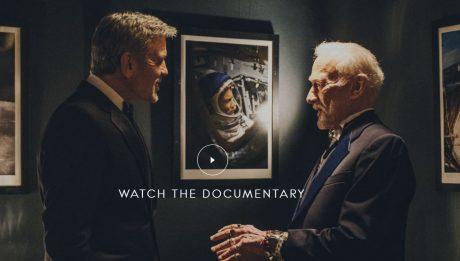 Clooney rencontre Buzz Aldrin