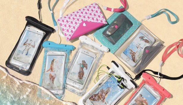 étuis smartphone pour la plage