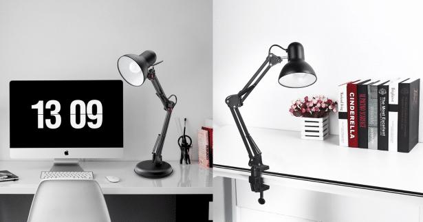 Un bureau optimis pour une meilleure productivit l - Lampe de bureau avec pince ...