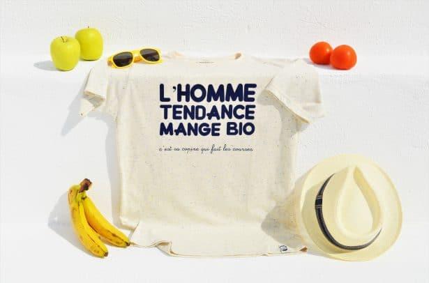 T-Shirt L'Homme Tendance Mange Bio