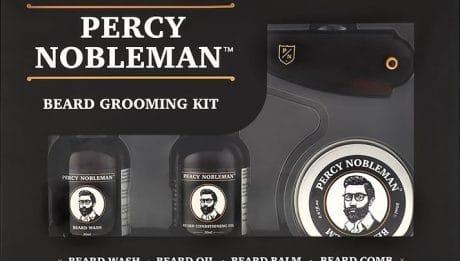 Kit entretien de barbe - coffret barbe Percy Nobleman