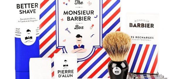 Kit barbier pour homme