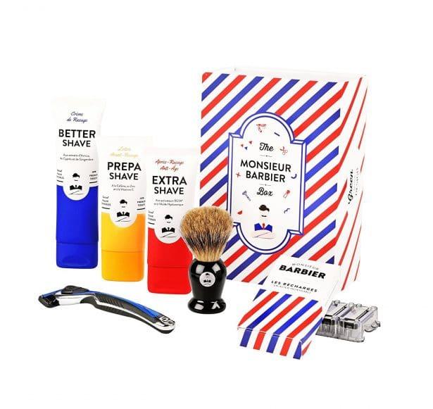 Coffret de rasage Monsieur Barbier