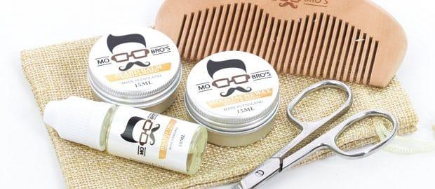 Kit moustache Mo Bro's