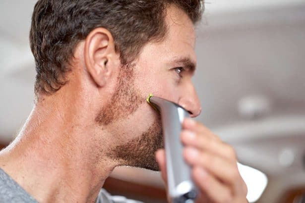 Taille complète de la barbe avec le OneBlade Pro de Philips