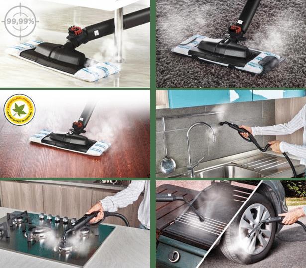 Vaporetto: pour un nettoyage profond et efficace: 369€ sur Amazon