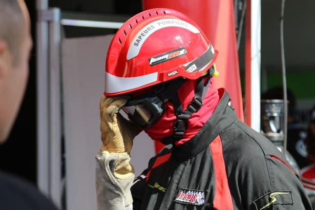 Bol D'or 2017 - Sapeur Pompier sur la Pite Lane