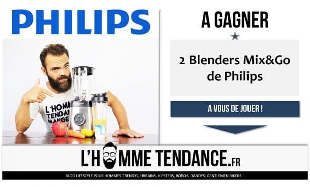Jeu concours blender philips mix&go HR3655