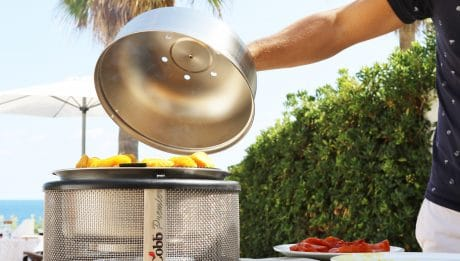 Le Cobb - barbecue toute l'année - barbecue portatif