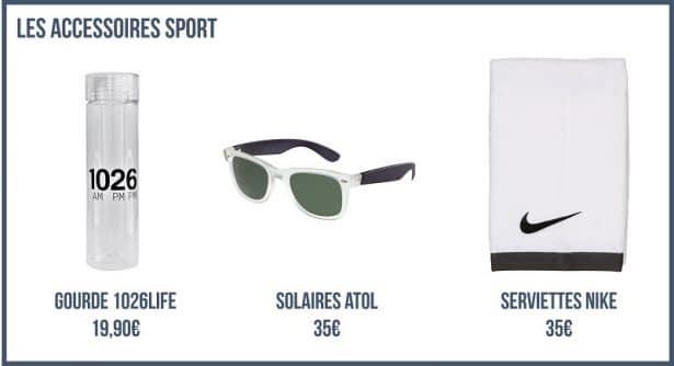 Les Accessoires Sport - Look Sport et High Tech