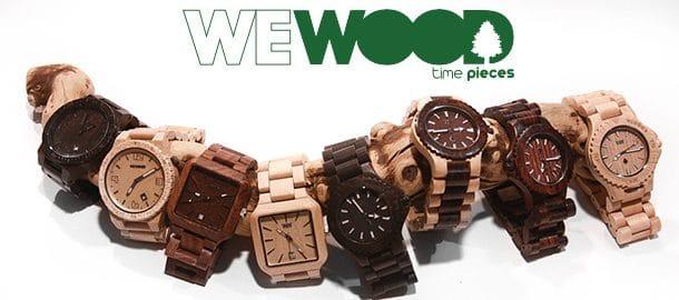 Montres en bois WeWOOD