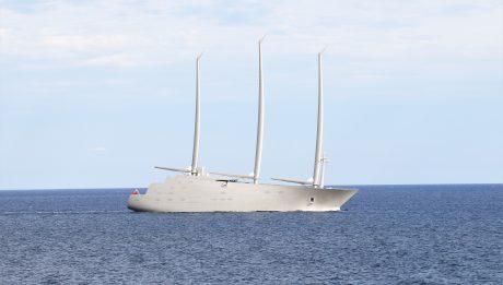 Sailing Yacht A le plus grand yacht à voile du monde