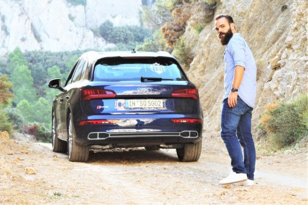 Audi SQ5 TFI essai by l'homme tendance