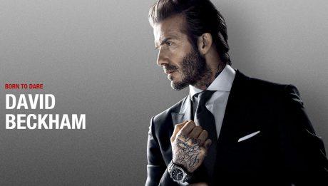 David Beckham, nouvel ambassadeur de la marque Tudor