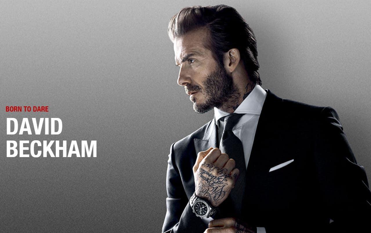 Super David Beckham, ambassadeur des montres Tudor - L'Homme Tendance MQ85