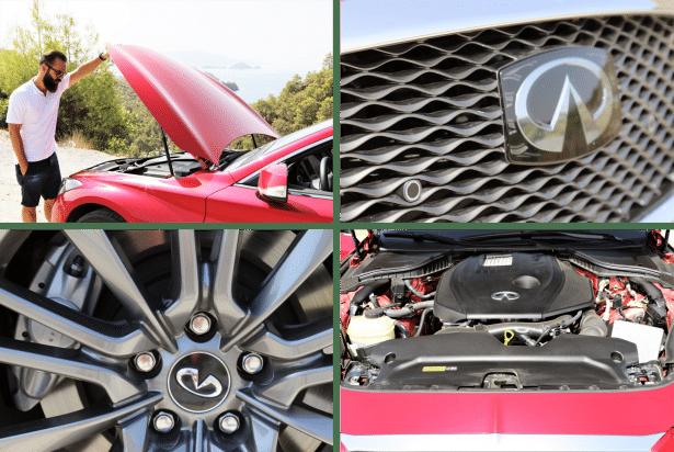 Test drive Q60 INFINITI: chaque détail compte