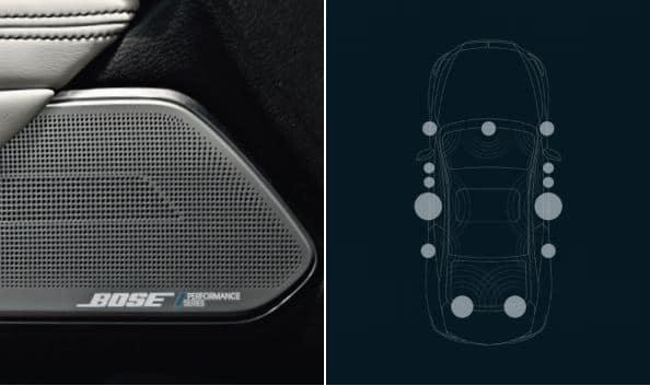 13 speakers Bose dans la nouvelle Q60 Infiniti