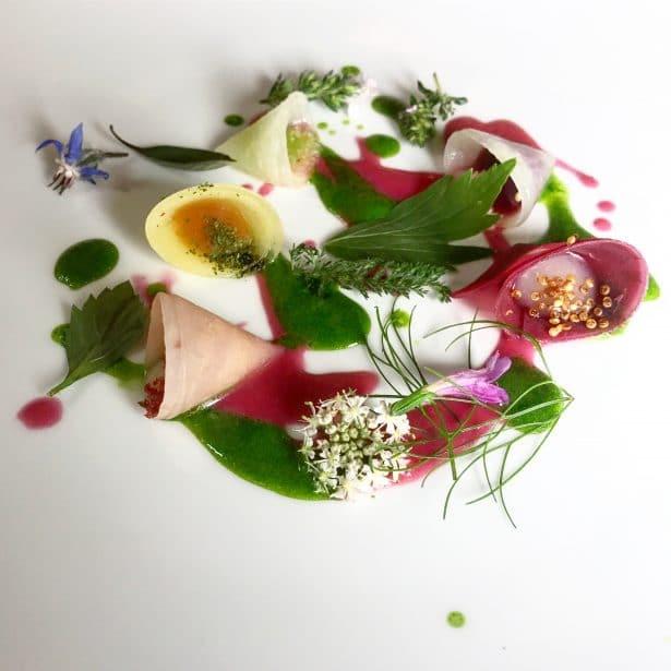 Légumes du jardin - Marc Veyrat dans sa maison des bois