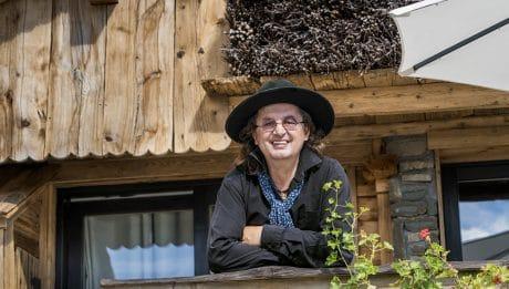Marc Veyrat dans sa Maison des bois