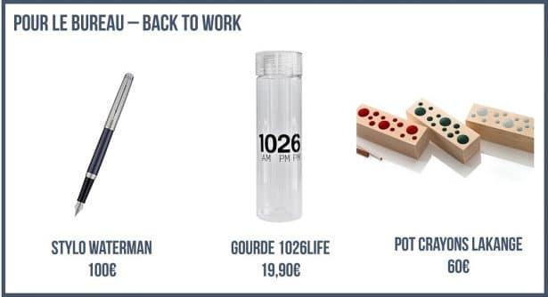 Pour le bureau - look back to work