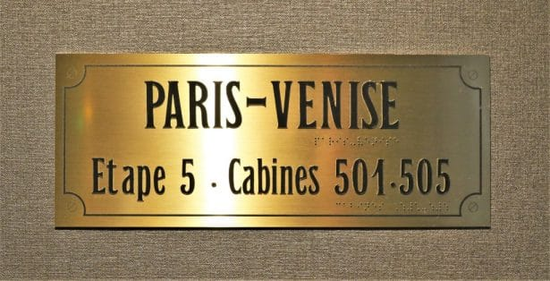 En route pour Paris-Venise au Whistler Hôtel