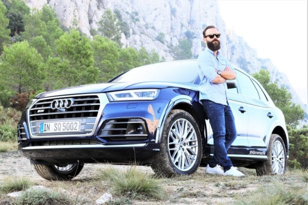 Test SQ5 TFSI Audi en Espagne by L'Homme Tendance