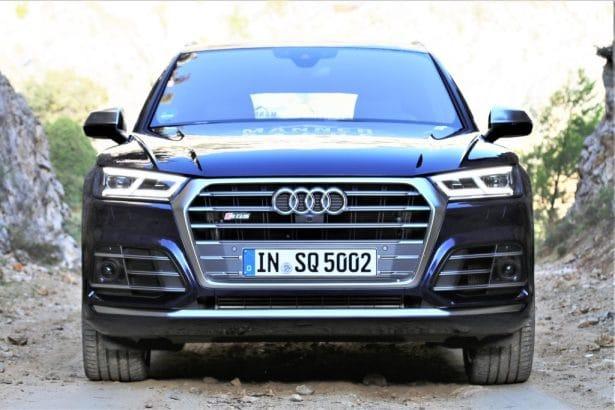 Puissance et confort : SQ5 TFSI Audi en Espagne by L'Homme Tendance