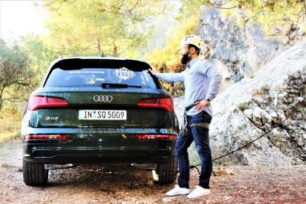 Escalader en toute sécurité avec le SQ5 TFSI Audi
