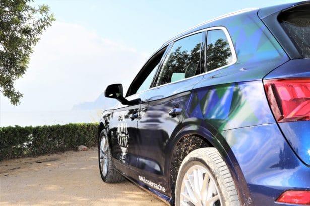 Essai SQ5 TFSI Audi en Espagne
