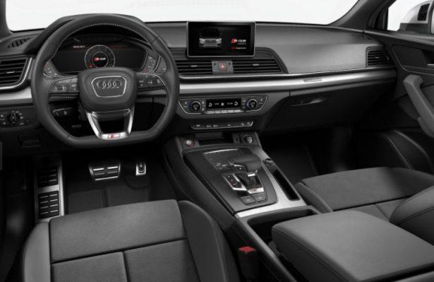 Audi SQ5 TFSI intérieur