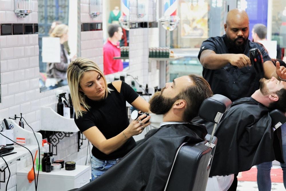 g g barber un nouveau barbier a paris l 39 homme tendance. Black Bedroom Furniture Sets. Home Design Ideas