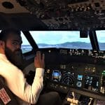Piloter un avion de ligne le temps d'un instant