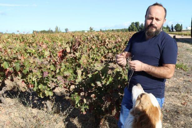 Brice du Mas Mellet nous fait découvrir son terroir et sa façon de vinifier