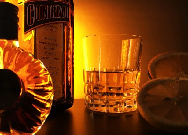 Cocktail avec Cointreau - @gentilgourmet