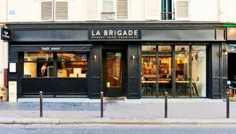Couverture - La Brigade, le street food carnivore pose ses valises à Oberkampf