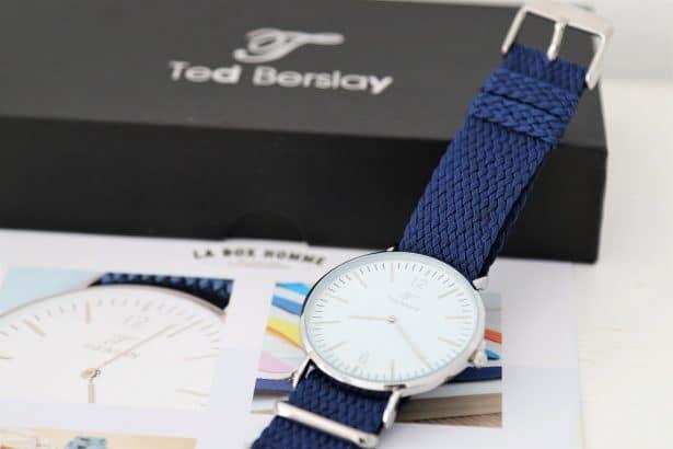 Montre Ted Berslay dans LA BOX HOMME