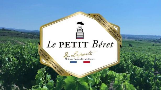 Le Petit Béret, l'innovation du vin sans alcool