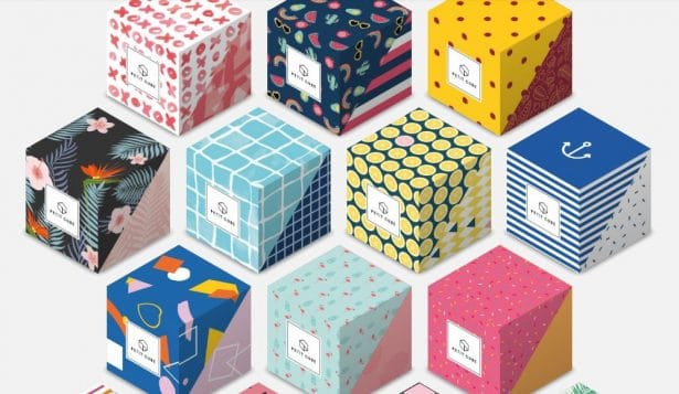 Les motifs des Petits Cubes