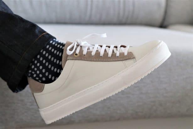 Chaussures JUCH modèle Taranta Blanc Ivoire se composent d'un pelage en veau lisse avec des empiècements en veau velours. : 155€