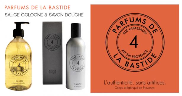SAUGE Cologne & savon douche Parfums de la Bastide
