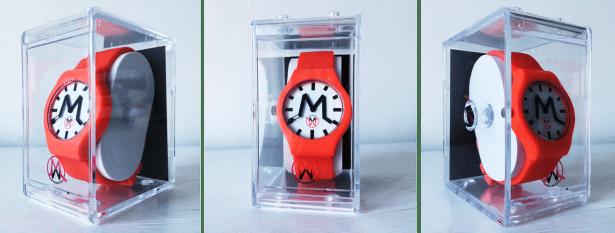 MADWATCH modèle Spicy White + Red à 99€