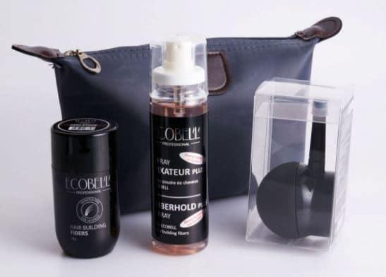 Le kit kératine Hairvisual parfait pour densifier les cheveux fins et clairsemés pour Hommes