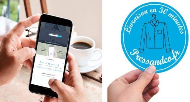 PressandCo, service de pressing à domicile, mobile et rapide !