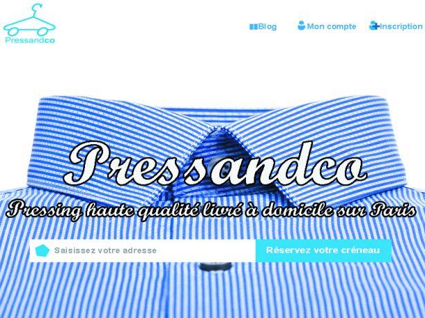 PressandCo, le pressing en 3 clics !